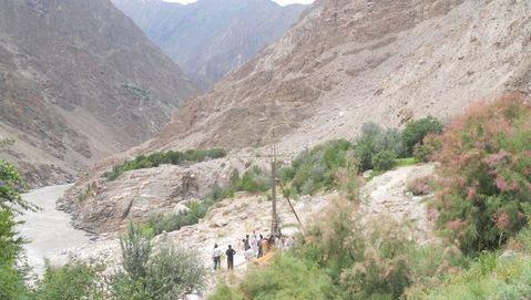 Bunji Hydro-Power Dam in Pakistan
