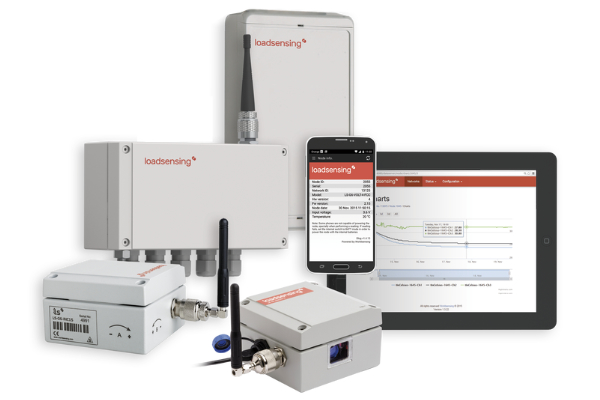 Loadsensing wireless monitoring system products