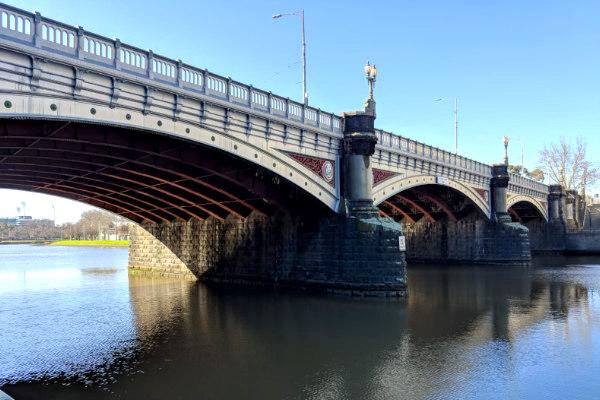 Bridge monitoring in Melbourne