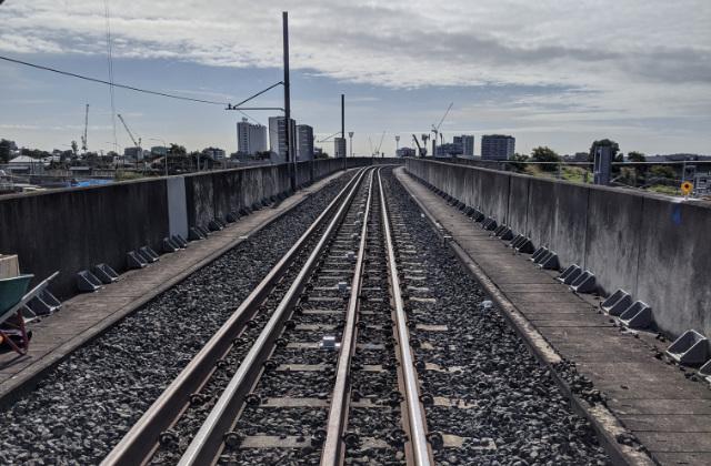 Cross River rail monitoring in Queensland