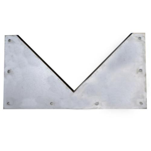 V-notch weir plate
