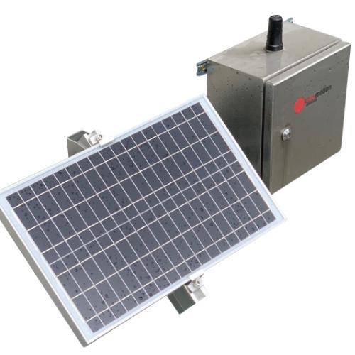 vnotch flow meter - automated water level radar