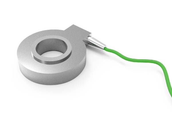 Electric anchor strain gauge load cell