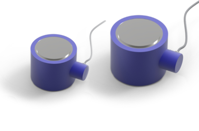 Two Solid Resistive Load Cells